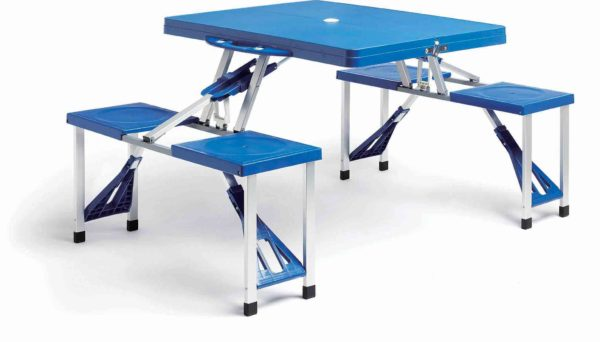 Katlanabilir Plastik Piknik Masası